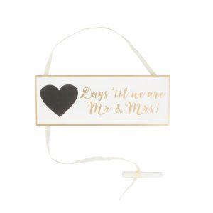 Houten-bordje-Days-Until-Mr-Mrs-goud