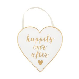 Houten-bordje-Happily-Ever-After-goud