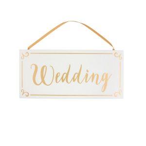 Houten-bordje-Wedding-goud