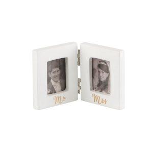 Mini-fotoframe-Mr-Mrs-goud