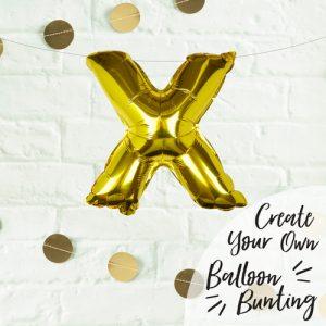 folieballon-goud-letter-x