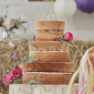 mr-mr-cake-topper
