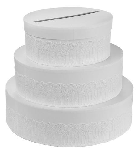 Enveloppendoos 'Weddingcake'