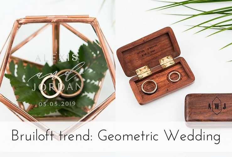 Bruiloft trend 2018: Geometric Wedding