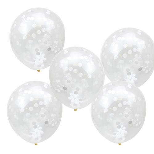 Confetti-ballonnen-wit-Rustic-Country