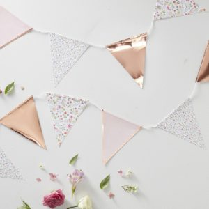 Roségouden-slinger-Ditsy-Floral