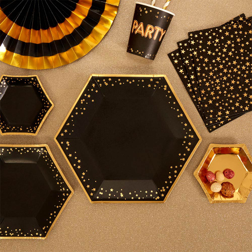 glitz-glamour-bordjes-black-gold-large