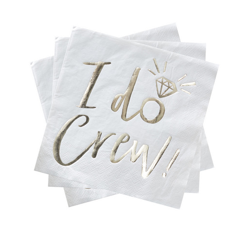 i-do-crew-servetten