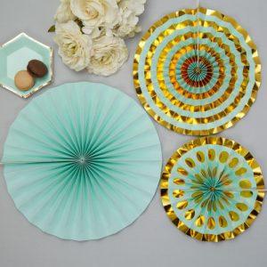 paper-fans-colour-block-marble-mint