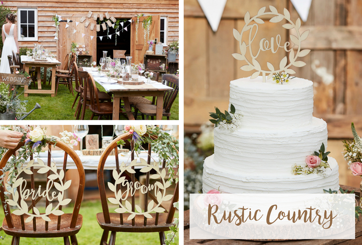 Bruiloft trend 2018: Rustic Country