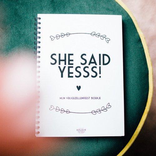boekje-she-said-yes-vrijgezellenfeest