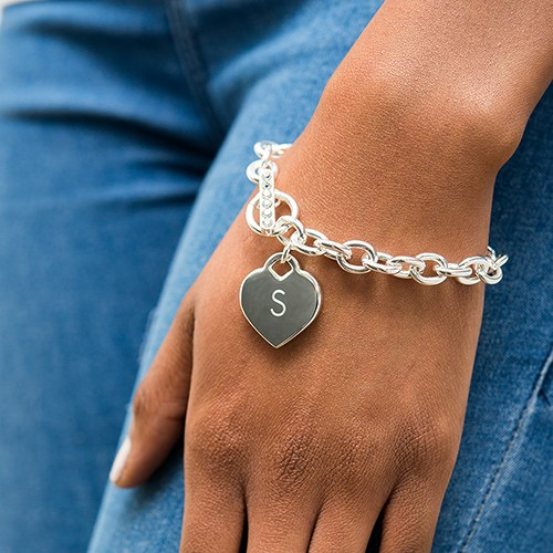 armband-silver-heart-gepersonaliseerd-2