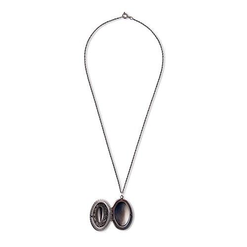 boeket-medaillon-antique-silver-gepersonaliseerd