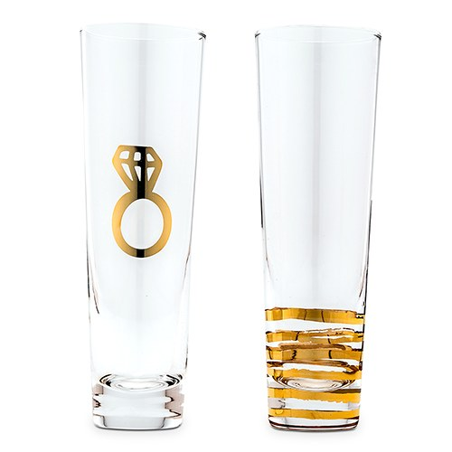 champagneglazen-engagement-set