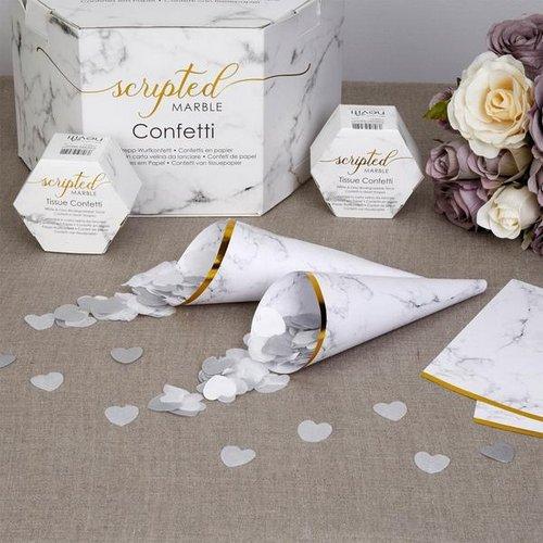 confetti-cones-scripted-marble