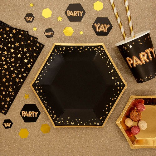 glitz-glamour-gebaksbordjes-black-gold