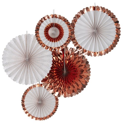 paper-fans-pick-mix-rose-gold
