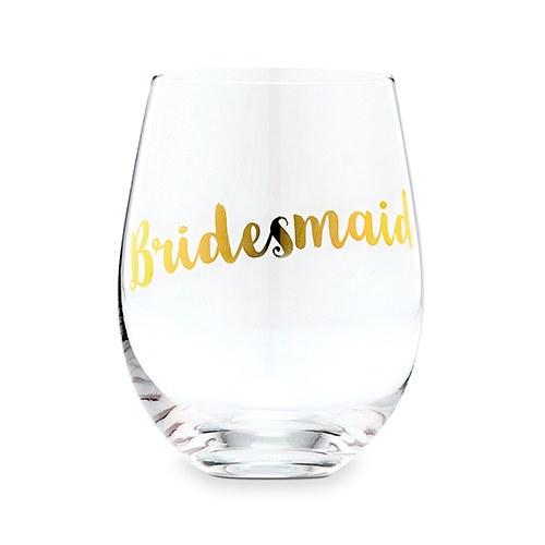 wijnglas-bridesmaid-metallic-gold
