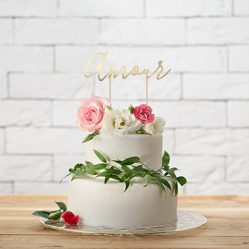 cake-topper-amour-goud-3
