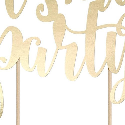 cake-topper-its-my-party-goud-2