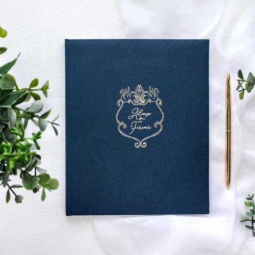 gastenboek-always-forever-navy-blue-3