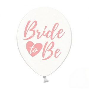 ballonnen-bride-to-be-roze