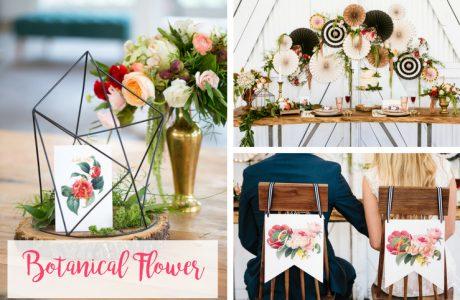 Onze nieuwe 'Botanical Flower' collectie
