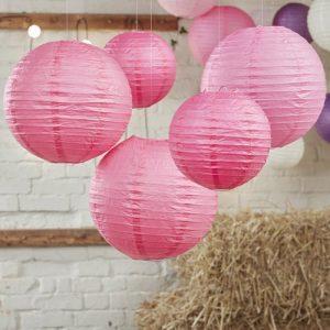 bruiloft-decoratie-lampionnenset-boho-fuchsia-2
