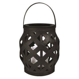 bruiloft-decoratie-lantaarn-met-led-lampje-zwart