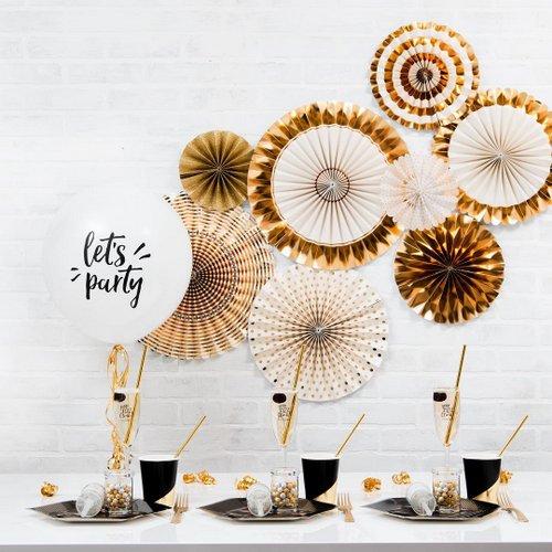 bruiloft-decoratie-paper-fans-gold-foil