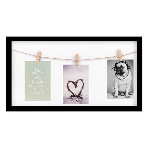 bruiloft-decoratie-photo-frame-wedding-memories-zwart