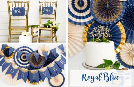 Onze nieuwe 'Royal Blue' collectie