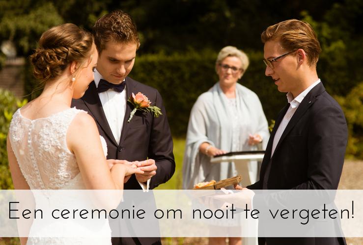 Zo krijgen jullie een ceremonie om nooit meer te vergeten!