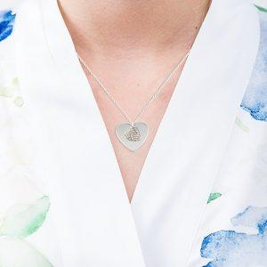 cadeau-bruid-crystal-heart-zilver