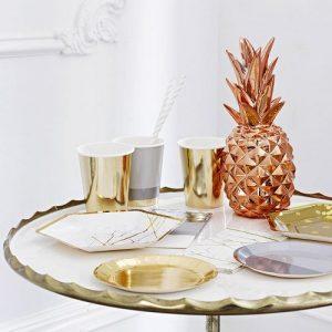 centrepiece-metallic-pineapple-rosegoud