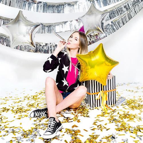 folieballon-golden-star