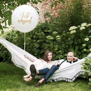 mega-ballon-just-married-goud-2