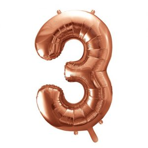 mega-folieballon-rosegoud-cijfer-3