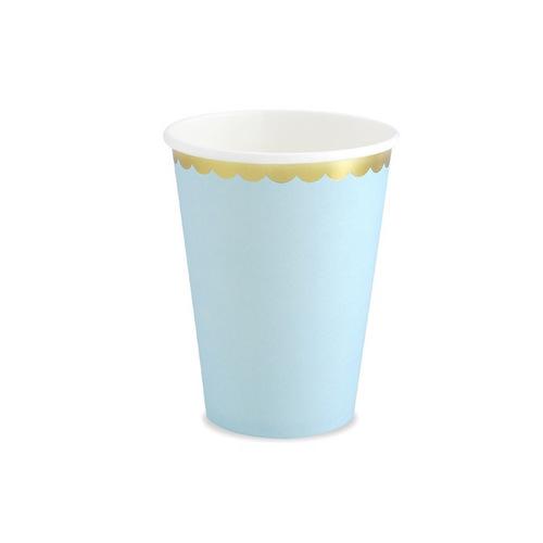 papieren-bekertjes-pastel-perfection-licht-blauw