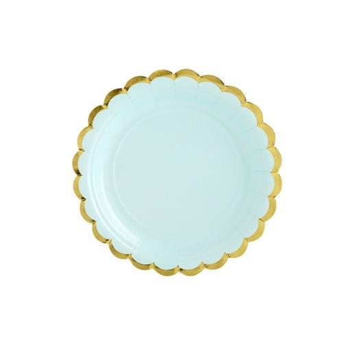 papieren-bordjes-pastel-perfection-mint