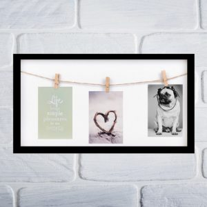photo-frame-wedding-memories-zwart