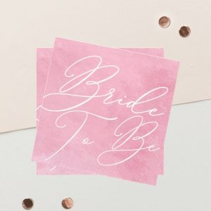 servetten-bride-to-be-pink