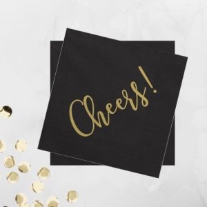 servetten-cheers-black-gold