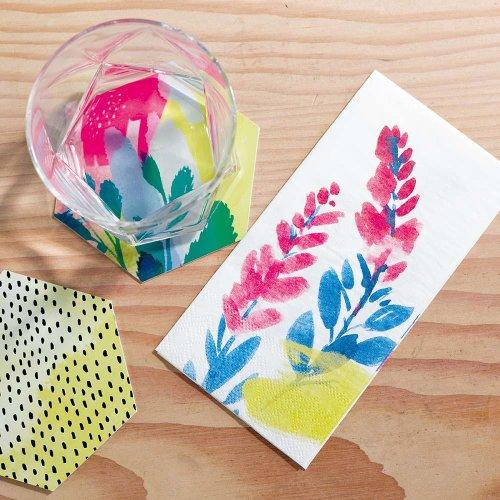 servetten-fluorescent-floral