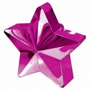 bruiloft-decoratie-ballongewichtje-star-fuchsia