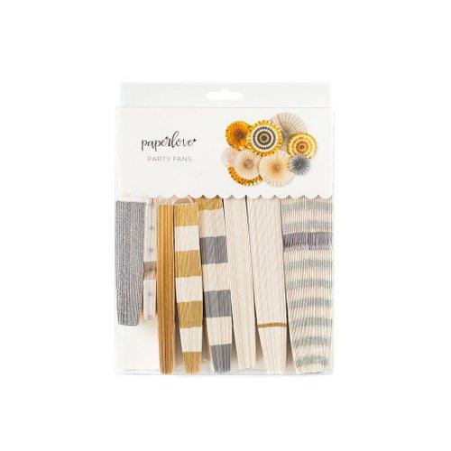bruiloft-decoratie-megaset-paper-fans-gold-silver-2