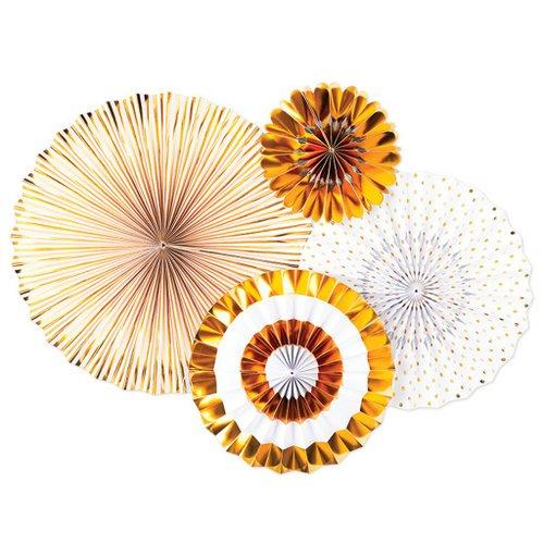 bruiloft-decoratie-paper-fans-gold-white-2