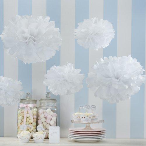 bruiloft-decoratie-pompom-set-wit-vintage-lace