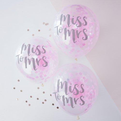 confetti-ballonnen-miss-to-mrs