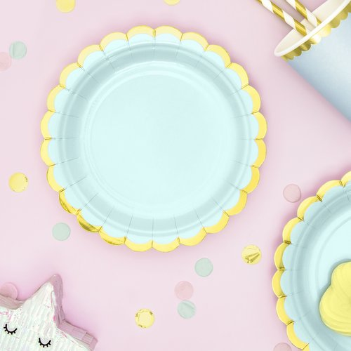 feestartikelen-bordjes-pastel-mint